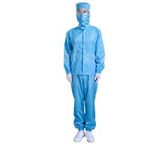 防静电蓝色分体服