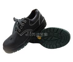 黑色安全鞋(防砸、防刺穿、防静电)