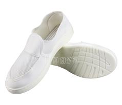 PU皮革网眼防静电鞋