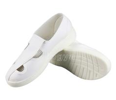 PU 白帆布四孔鞋