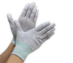 碳纤维PU涂指手套