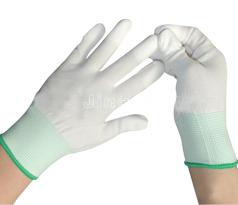 防静电PU涂掌手套